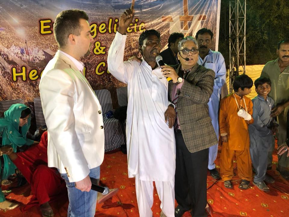 Man healed of Hepatitis C by Jesus