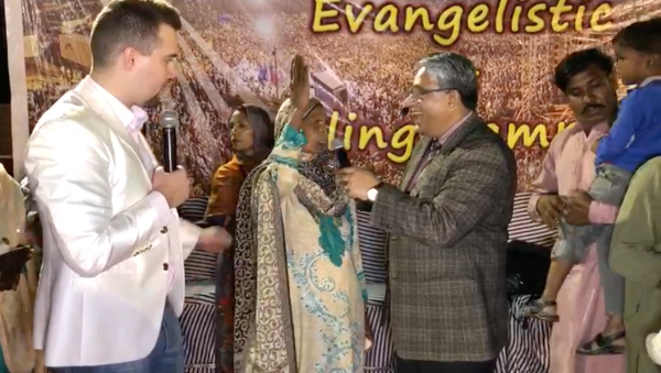 Blindness healed by Jesus